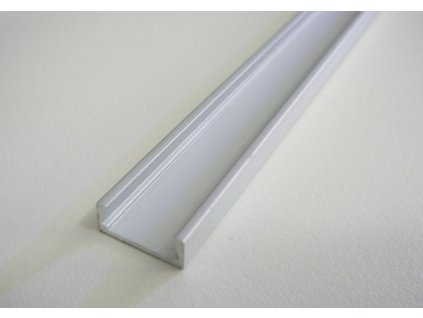 LED profil Mikro 2 - Profil bez krytu 1m