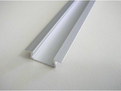 LED profil V4 mini vestavný - Profil bez krytu 1m