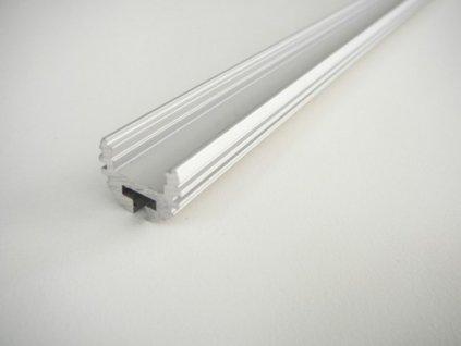 LED profil K - kruhový - Profil bez krytu 2m