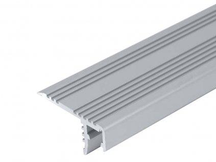 LED profil ST schodišťový - Profil bez krytu 2m