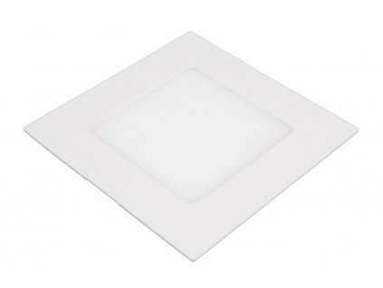SN6 LED panel 6W čtverec 120x120mm - Teplá bílá