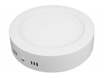 PL12 LED panel 12W přisazený kulatý 166mm - Teplá bílá