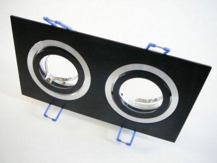 Podhledový rámeček D10-2B černý - TLZ-D10-2B podhledový rámeček