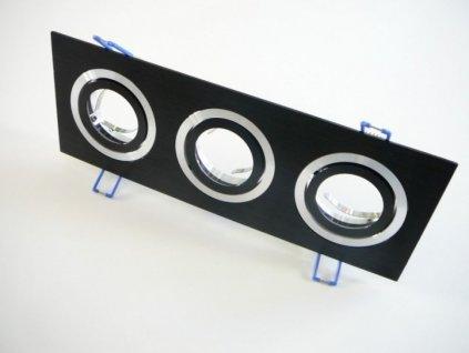 Podhledový rámeček D10-3B černý - TLZ-D10-3B podhledový rámeček