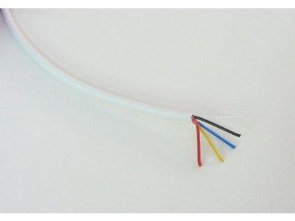 Kabel RGB kulatý 4x0,19 - Kabel RGB  kulatý 4x0,19