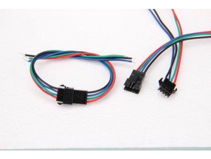 RGB spojovací sada s konektorem - RGB spojovací sada s konektorem