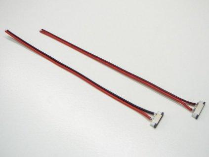 1barva přípojka pro LED pásek s kabelem - 10mm