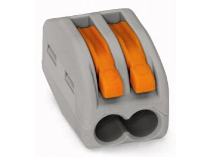 WAGO svorka 2x2,5 šedá - WAGO svorka 2x2,5 šedá