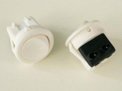 Vypínač kolébkový 250V/3A - Barva bílá