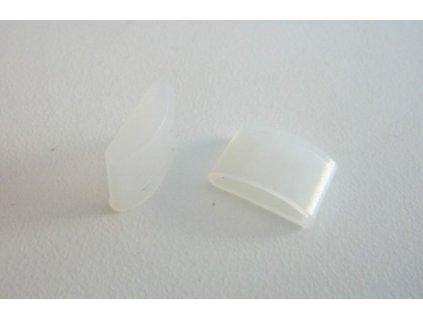 Koncovka LED pásku TW2 a TW3 - TW2 12mm  koncovka IP68 voděodolného pásku