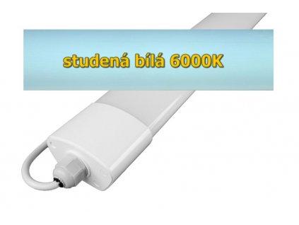 LED svítidlo TRIPROOF 36W 120cm - Studená bílá