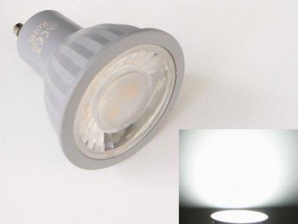 LED žárovka GU10 EV7W - Studená bílá