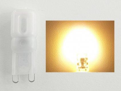 LED žárovka G9 EP2,5W - Teplá bílá