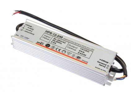 LED zdroj 12V 240W HPS-12-240 Záruka 5 let - 12V 240W zdroj HPS-12-240 Záruka 5 let