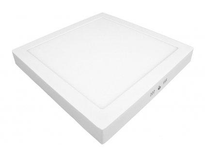 PS24 LED panel 24W přisazený čtverec 300x300mm - Teplá bílá