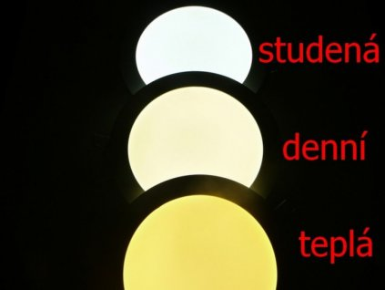 Přisazené LED svítidlo MONDO 16W - Studená bílá