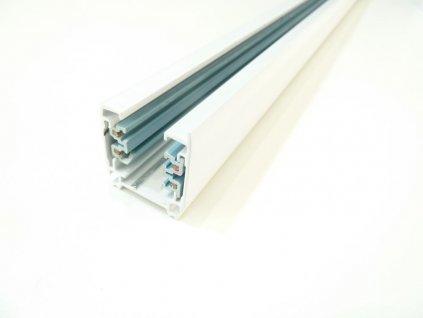 Třífázová lišta 3F pro třífázová svítidla - 200cm bílá lišta