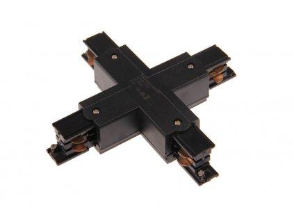 X spojka 3F pro třífázovou lištu - Černá