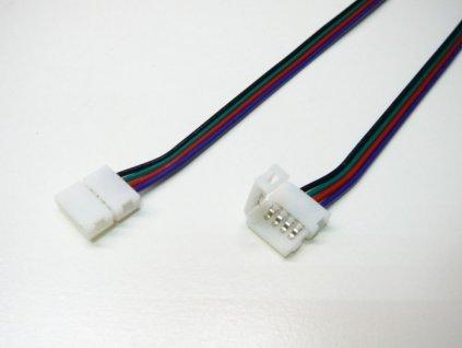 RGB přípojka click pro LED pásek s kabelem - RGB přípojka click pro LED pásek s kabelem