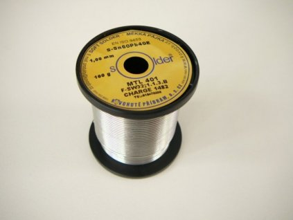 Trubičková pájka průměr 1 mm - Trubičková pájka průměr 1 mm