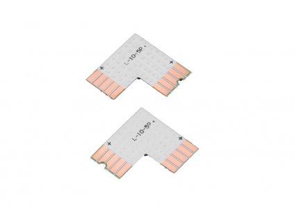 RGBW PCB spojka L - PCB spojka L 10mm RGBW