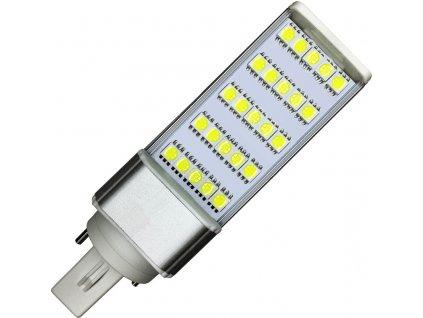 5W,450lm,124x35x35mm,25/SMD5050,LED žárovka G24 5W studená bílá
