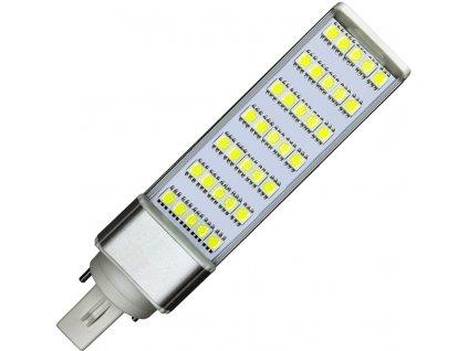 7W,550lm,124x35x35mm,35/SMD5050,LED žárovka G24 7W teplá bílá