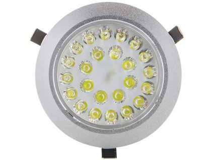 24W,1920lm,177mm,120mm,24x1W/LED,LED bodové svítidlo 24x 1W teplá bílá