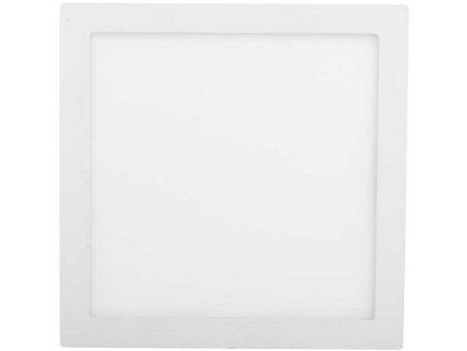 Bílý vestavný LED panel 300x300mm 25W teplá bílá