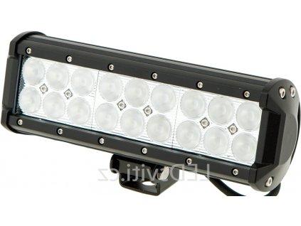 30W,3780lm,232x106mm,18x3W/LED,LED pracovní světlo 54W BAR 10-30V