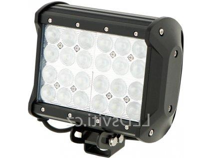 72W,5040lm,167x168mm,24x3W/LED,LED pracovní světlo 72W BAR 10-30V