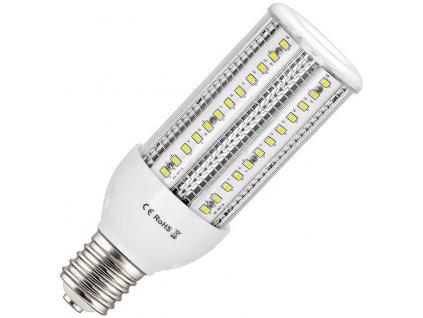 LED žárovka E40 CORN 38W studená bílá