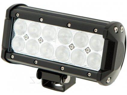 36W,2520lm,164x106mm,12x3W/LED,LED pracovní světlo 36W BAR 10-30V