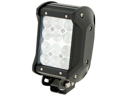 36W,2520lm,99x168mm,12x3W/LED,LED pracovní světlo 36W BAR2 10-30V