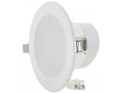 10W,900lm,115mm,58mm,SMD5730,Bílé vestavné kulaté LED svítidlo 10W 115mm teplá bílá IP63