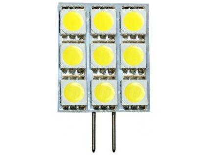 LED žárovka G4 2W kapsule studená bílá