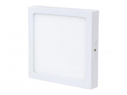 Bílý přisazený LED panel 300x300mm 25W teplá bílá