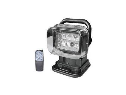 50W,3200lm,230mm,10/LED,Polohovatelné LED pracovní světlo 50W 12V 360° s dálkovým ovladačem