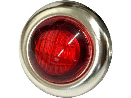 0,15W,15lm,27mm,1/LED,Signalizační LED světlo 0,15W červené