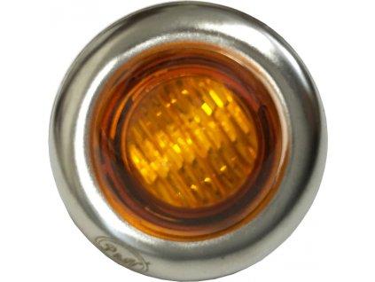 0,15W,15lm,27mm,1/LED,Signalizační LED světlo 0,15W oranžové