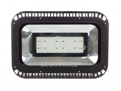 300W,27000lm,530x325mm,370/SMD,Černý LED reflektor 300W denní bílá