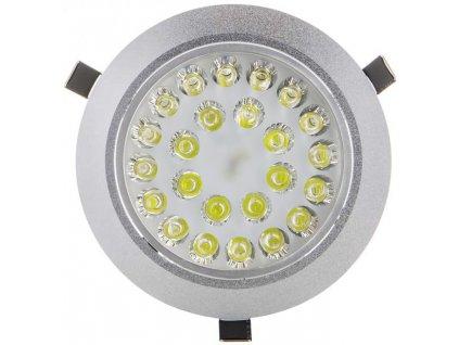 2400lm,177mm,120mm,24x1W/LED,LED bodové svítidlo 24x 1W studená bílá