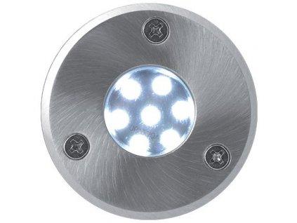 0,5W,30lm,93mm,7/SMD,Pojezdové zemní LED svítidlo 230V 0,5W 7LED studená bílá