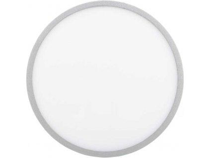 Stmívatelný Stříbrný kruhový vestavný LED panel 600mm 48W denní bílá