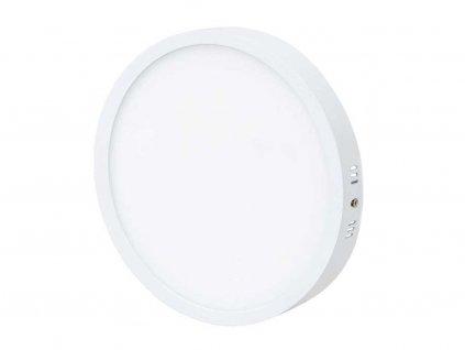 Bílý kruhový přisazený LED panel 600mm 45W denní bílá