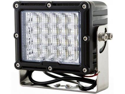100W,7300lm,160x130mm,20x5W/LED,LED pracovní světlo 100W 12-48V