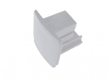 Záslepka krátká pro bílou 3-Fázovou lištu