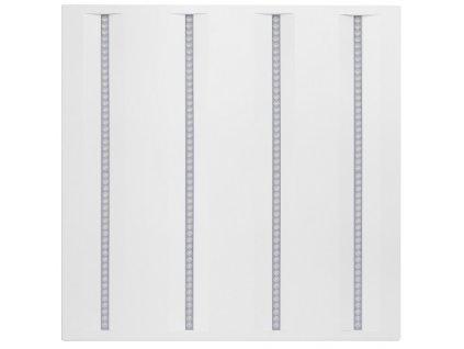 Bílý LED panel 600x600mm 36W virgo profi n4a denní bílá