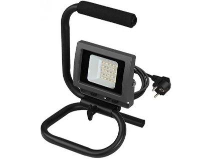 20W,1500lm,170x265mm,25x SMD,Černý LED reflektor 20W vana handy denní bílá