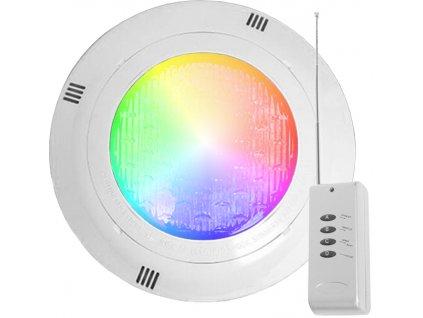 9W,450lm,295mm,60mm,SMD2835,LED bazénové světlo RGB PAR56 9W 24V s ovladačem